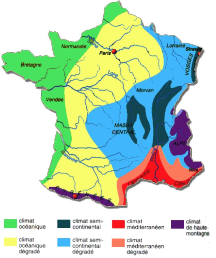 que cultiver par region?